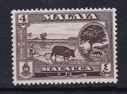 Malaya - Malacca: 1960/62   Pictorial   SG52    4c     MH - Malacca