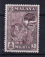 Malaya - Malacca: 1960/62   Pictorial   SG55    10c     MH - Malacca