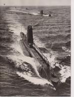 SUBMARINES FLEET REVIEW ROYAL NAVY ROYAL YACHT BRITANNIA QUEEN AND DUKE EDINBURG DENMARK  20*17cm SHIP BOAT BATEAU BOOT - Barche