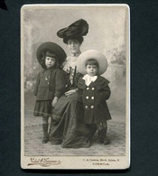 Fotografia Antiga Fotografo: VIDAL & FONSECA Phot. Calçada Do Combro / Rua Belver LISBOA. Old Photo CDV PORTUGAL 1900s - Old (before 1900)