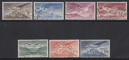Ireland, Sc C1-C7 (SG 140-143b), Used - Airmail