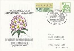 PU 113/88  Jahrestagung Augsburg 16.-20.8.1987 - Deutsche Dendrologische Gesellschaft E.V. Gegründet 1892, Augsburg 1 - Privatumschläge - Gebraucht