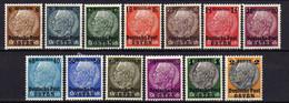 Generalgouvernement 1939 Mi 1-13 * [241220XVII] - Occupazione 1938 – 45