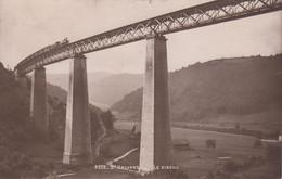 Thematiques Suisse Saint Ursanne Le Viaduc Train Cachet 1913 - JU Jura