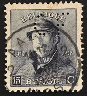 OBP 169 - EC AALST Firmaperforatie C.F. - 1919-1920  Re Con Casco