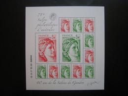 FRANCE  F 5179 SABINE DE GANDON NEUF** - Unused Stamps