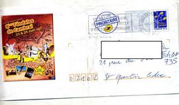 Pap Logo Bleu Flamme Bohain  Matisse Illustré Fete Feodale Cambrai - PAP : Bijwerking /Logo Bleu