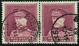 OBP 324 In Paar - EC BIEVRES - 1931-1934 Kepi