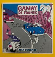17665 - Gamay De  Founex Alex Périence  Décapotable & Chauffeur éméché Camion Moto De Police - Humour