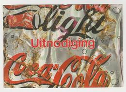 Postcard-ansichtkaart Coca-cola Light - Cartes Postales