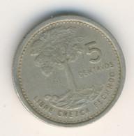 GUATEMALA 1978: 5 Centavos, KM 276 - Guatemala