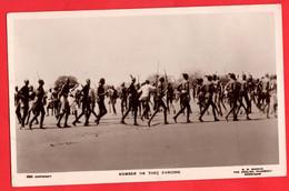 SUDAN  RUMER OR TONJ DANCING  ETHNIC    RP - Sudan