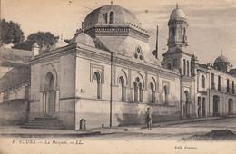 Thematiques Algerie Kouba La Mosquée Cachet Marine Nationale Service A La Mer Cachet 07 02 1918 - Algerien