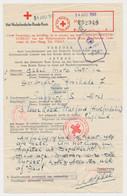 Red Cross Form WWII Dordrecht The Netherlands - GB / UK 1943 - Storia Postale