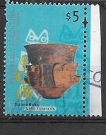 ARGENTINA - 2000 - ARCHEOLOGIA - URNA FUNERARIA -$5 - USATO (YVERT 2191 - MICHEL 2598I) - Oblitérés