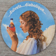 Sous-bock ORANGINA Duivels... Diabolique (femme, Ange) Bierdeckel Bierviltje Coaster (CX) - Portavasos