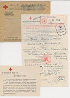 Red Cross Form / Cover WWII Dordrecht The Netherlands - GB / UK 1943 - Storia Postale