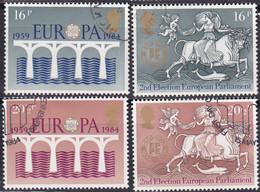 GB, 1984,  Mi. 988/91, Used,   Europa - Usados