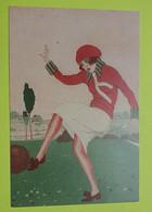 """51 MARNE REPRODUCTION - """"En Short"""" - CPA Carte Postale Publicitaire REIMS - Les 100 Ans De FOOTBALL Féminin 2019 - Soccer"""