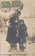 Carte Photo Russie Femme Avec Enfant - Russia