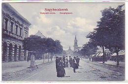 11642 Ak Nagybecskerek Hauptgasse Um 1910 - Hongarije