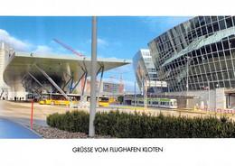 Kloten Flughafen   Postauto Q   Limitierte Auflage! - ZH Zurich