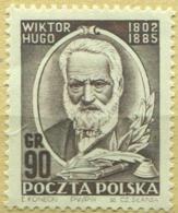 1952 Poland Wiktor Hugo MNH** - Ongebruikt