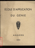° MILITARIA ° ECOLE D'APPLICATION DU GENIE ° ANGERS ° 1950 ° 29 Photos ° - Andere