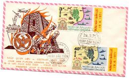 Viêt-Nam-FDC Illustrée TP N° 399/400 DU 19/6/1971 - Vietnam