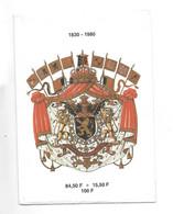 Briefomslag Belgie 1980 84,5+15,50  100 Fr (zonder Zegels) - Historical Documents