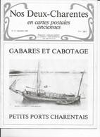 Repro De Cartes Postales Anciennes  Gabares Et Cabotage - Cognac
