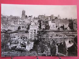 Italie - Roma - Panorama Con I Mercati Di Traiano - Foro Di Augusto - Foro Di Giulio Cesare - Excel. état - Firenze (Florence)