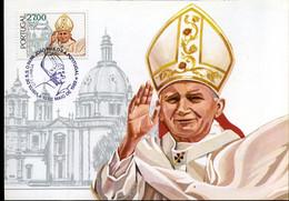 Portugal - MK - Paus Johannes Paulus II - Maximum Cards & Covers