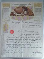 Roubaix - Chromolithographie D'art Sénécaut - Stamperia & Cartoleria