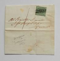 Stato Pontificio, Lettera Da Ferrara Per Copparo 1852 - Kerkelijke Staten