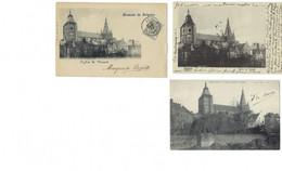 Belgique - SOIGNIES - 6 CP - Collégiale, Ecole Des Filles, Ecole Des Garçons, Institut Des Demoiselles - Soignies