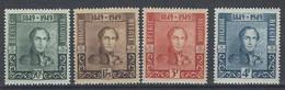 Nr 807-10 ** - Unused Stamps