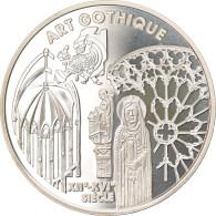 Monnaie, France, Gothic Art, 6.55957 Francs, 1999, Paris, Proof, FDC, Argent - Altri