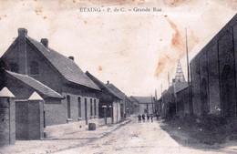 62 - Pas De Calais - ETAING - Grande Rue - Rare - Otros Municipios