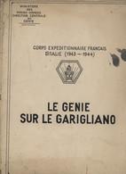 ° WW2 ° LE GENIE SUR LE GARIGLIANO 1943 6 1944 ° CARTES, DOCUMENTS, PHOTOS ... ° - 1939-45