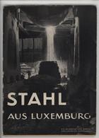 ° WW2 ° STAHL AUS LUXEMBURG ° ACIER AU LUXEMBOURG ° Ein Bildbuch Der Arbed Von Heinrich Hoffmann 1942  ° - Biographies & Mémoirs