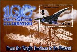 Salomon Solomon 2003 Motorized Flight 100 Years Vol Motorisé 100 Ans Aérospatiale British Aircraft Concorde - Airplanes