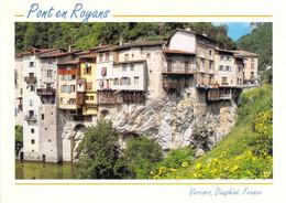 38 - Pont En Royans - Le Bourg Et Ses Pittoresques Maisons Suspendues Au Dessus De La Bourne - Pont-en-Royans