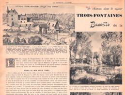 Régionalisme-Auderghem-La Forêt De Soignes-Le Château De Trois-Fontaines-Dry Borren-Prison-Patriote Illustré-17/11/1946 - Ohne Zuordnung