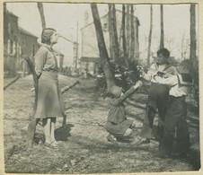 """Stéréo Amateur. """" L'exécution """". Mise En Scène. Jeu. Humour. 1932. - Stereoscopio"""