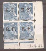 CD  697  -  France  -  Coins Datés  -  Liberation De Lyon  :  Yv  4  **    1-3-44 - 1940-1949