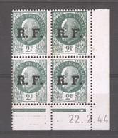 CD  700  -  France  -  Coins Datés  -  Liberation De Lyon  :  Yv  11  **    22-2-44 - 1940-1949