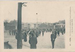 Lille Merlot 42 Les Chasseurs à Pied à La Porte Louis XIV Circulée En 1919 TBE - Lille