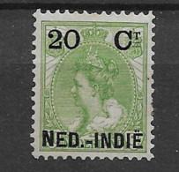 1900 MH Nederlands Indië NVPH 34 - Nederlands-Indië