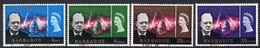 Barbados 1966 Churchill Commemoration Set Of 4, Used, SG 336/9 (WI) - Barbados (...-1966)